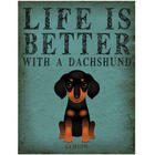 Life Is Better With A Dog Print