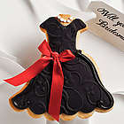 Personalized Sandy Dress Cookie Card