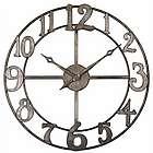 Antique Silver Finish Clock