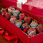 Happy Valentine's Day Strawberry Rose Box