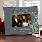Personalized Love Is Romantic Photo Frame