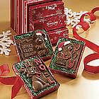 Chocolate Christmas Card Trio Gift Box