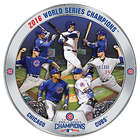 Chicago Cubs 2016 World Series Champions Commemorative Plate