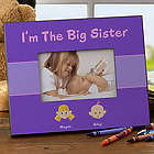 Sister Personalized Character Frame
