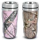 Double-Walled Stainless Steel Camouflage Travel Mugs