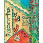 Beach Life 20 Inch Art Pole