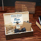 The Man, the Myth Personalized Groomsman's Gift Box