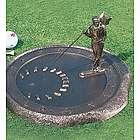 Golfer Sundial