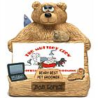 Personalized Business Card Holder for Pet Groomer