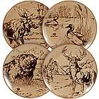 Outdoor Animal Assorted Dinner Plates Set