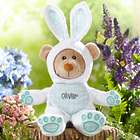 Personalized Easter Bunny Plush Bear