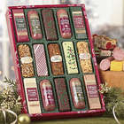 Holiday Sausage and Cheese Bars and Logs Gift Box