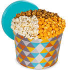 Artisan Popcorn Traditional 3 Way Mix 2 Gallon Gift Tin