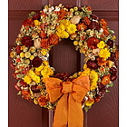 """18"""" Radiant Preserved Fall Wreath"""