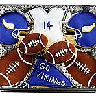 Go Vikings Cookie Gift Tin