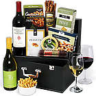 Platinum Collection Wine and Snack Gift Box