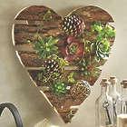 Heart Succulent Wall Garden