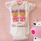 Bodysuit for Twin Girl