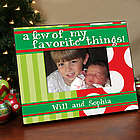 Personalized Christmas Printed Picture Frame