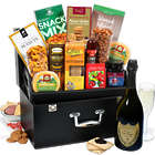 Dom Perignon and Snacks Gift Box