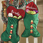 Personalized Christmas Pet Stocking