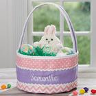 Embroidered Soft Easter Basket