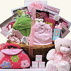 Grand Welcome Baby Girl Gift Basket