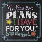I Know the Plans I Have for You Book