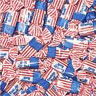 One Pound of USA Flag Tootsie Rolls