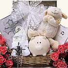 Bless This Baby Girl Christening/Baptism Gift Basket