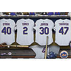 Personalized New York Mets 24x36 Locker Room Canvas