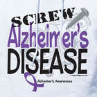 Personalized Screw Alzheimer's Disease Hooded Sweatshirt