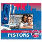 Detroit Pistons Ticket and Photo Album Scrapbook