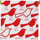 Reusable Sandwich & Snack Bag in Red Bird Design