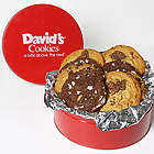 Assorted Fresh Baked Cookies Gift Tin