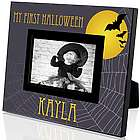 My First Halloween Personalized 4x6 Photo Frame