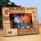 Personalized All About Grandma 4x6 Photo Frame