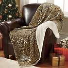 Personalized Cheetah Throw Blanket