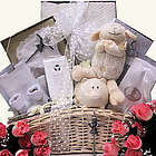 Blessings on Your Christening Girl's Baptism Gift Basket