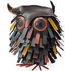 Spiky Owl Garden Figurine