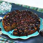 Chocolate Chip Ganache Deep Dish Cookie Pie
