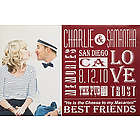 Our Life Together Personalized Photo Canvas Print