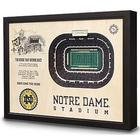Notre Dame Stadium 3D View Wall Art