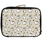 Insulated Kids Lunch Box Bunny Tile