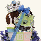 Baby's 1st Birthday Gift Basket for Boy