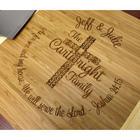 Joshua 24:15 Personalized Cutting Board