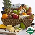 Ultimate Organic Fruit, Chocolate, and Nuts Gift Basket