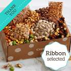 Snack Attack Gift Box with Thank You Ribbon