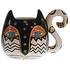 Handpainted Fantastic Feline Mug