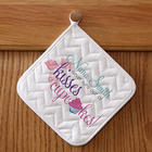 Kisses & Cupcakes Personalized Potholder